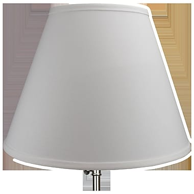 Fenchel Shades 16'' Linen Empire Lamp Shade; Celadon