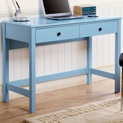 Homestar Othello Writing Desk; Blue