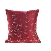 Arcadia Home Design Inc. Silk Throw Pillow Cover; 20'' H x 20'' W x 6'' D