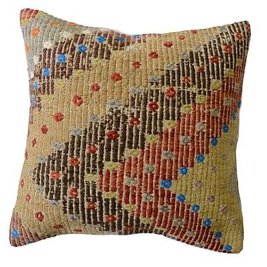 Pasargad Kilim Wool Throw Pillow