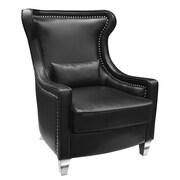 Uptown Club Jett Nail Head Wingback Chair