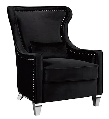 Uptown Club Jett Nail Head Wingback Chair WYF078280370703