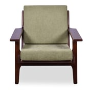 Ashcroft Imports Marley Arm Chair; Pistachio