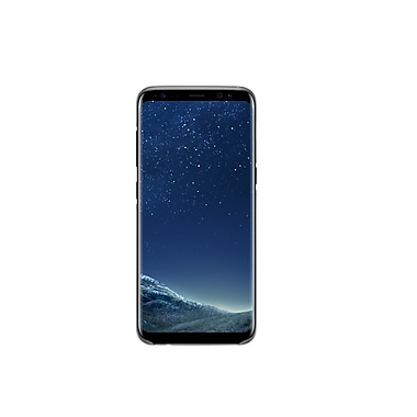 Samsung Clear Cover Bumper Case for Galaxy S8, Black (EF-QG950CBEGCA)