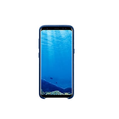 Samsung Alcantara Cover Bumper Case for Galaxy S8, Rich Blue (EF-XG950ALEGCA)