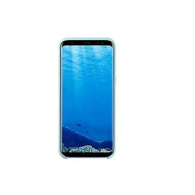 Samsung Silicon Cover Bumper Case for Galaxy S8+, Blue (EF-PG955TLEGCA)