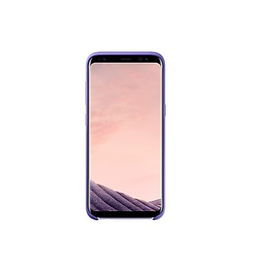 Samsung Silicon Cover Bumper Case for Galaxy S8, Violet (EF-PG950TVEGCA)