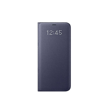 Samsung LED View Cover Flip Case for Galaxy S8+, Violet (EF-NG955PVEGCA)