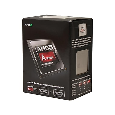 AMD A6 6400K FM2 Black Edition Processor, 3.9 GHz, 1 MB, 4100 MHz, 65 W (AD640KOKHLBOX)