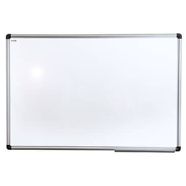 Viztex Lacquered Steel Magnetic Dry Erase Board, 36x24