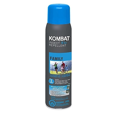 Kombat Family 5% DEET Repellent, 200g BOV, 3/Pack