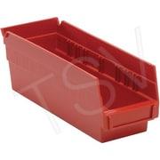 Quantum Storage System – Bacs de rangement, rouge, 30 lb, paq./36