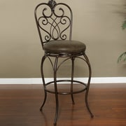Darby Home Co Wyona 30'' Swivel Bar Stool