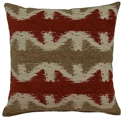 Creative Home Geo Jack Throw Pillow; Spice