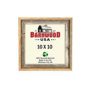 BarnwoodUSA Rustic 100pct Reclaimed Wood Signature Picture Frame; 10'' x 10''