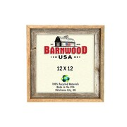 BarnwoodUSA Rustic 100pct Reclaimed Wood Signature Picture Frame; 12'' x 12''