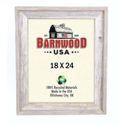 BarnwoodUSA Rustic 100pct Reclaimed Wood Signature Picture Frame; 18'' x 24''