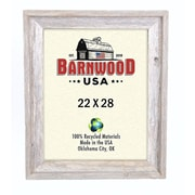 BarnwoodUSA Rustic 100pct Reclaimed Wood Signature Picture Frame; 22'' x 28''