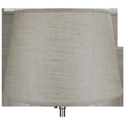 Fenchel Shades 18'' Drum Lamp Shade; Natural