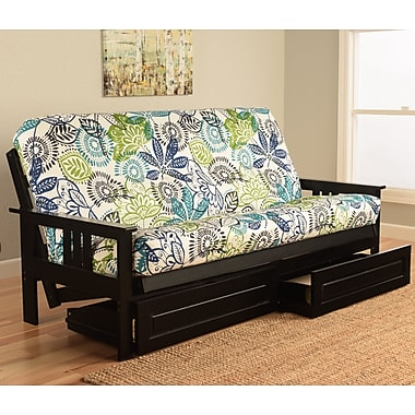 Latitude Run Hardwick Futon and Mattress