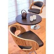 Corrigan Studio Adjustable Height Swivel Bar Stool; Zebra / Brown