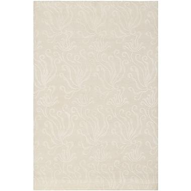 Martha Stewart Rugs Martha Stewart Seaflora Pearl Area Rug; 3'9'' x 5'9''