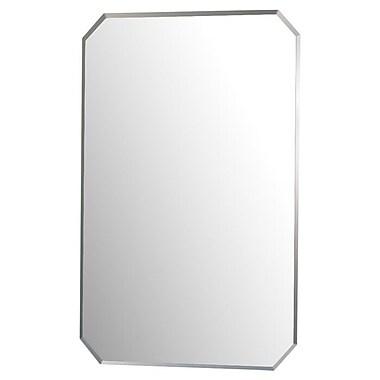 American Hideaway Inc. Mirrored Wall 1 Door Accent Cabinet