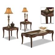 Brady Furniture Industries Edison Park 3 Piece Coffee Table Set