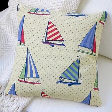 Artisan Pillows Stroup Balboa Sail Boat Pillow Cover