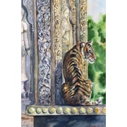 World Menagerie 'Your Majesty' Painting Print on Wrapped Canvas; 36'' H x 24'' W x 1.5'' D