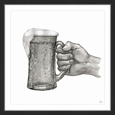 Williston Forge 'Another Beer' Framed Painting Print; 48'' H x 48'' W x 1.5'' D