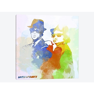 East Urban Home 'Blues Brothers' Graphic Art Print on Canvas; 37'' H x 37'' W x 0.75'' D