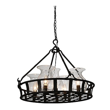Darby Home Co Eliza 5-Light Shaded Chandelier