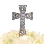 Unik Occasions Sparkling Cross Cake Topper; Gold