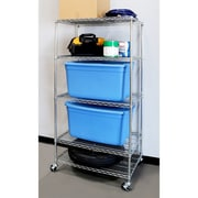 Seville Classics Heavy Duty 5-Level Steel Wire Shelving Unit