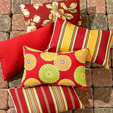 Greendale Home Fashions Outdoor Throw Pillow (Set of 2)