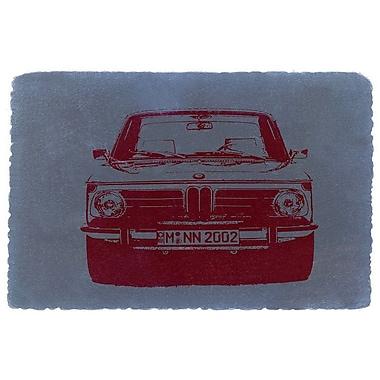 East Urban Home 'BMW 2002' Graphic Art Print on Canvas; 26'' H x 40'' W x 0.75'' D