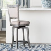 Darby Home Co Topeka 24'' Swivel Bar Stool