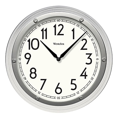 Latitude Run 12'' Wall Clock; White WYF078281037151