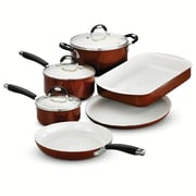 Tramontina Style Ceramica 9 Piece Cookware Set