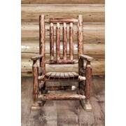 Loon Peak Tungsten Log Child's Rocking Chair