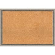 Red Barrel Studio Framed Cork Bulletin Board