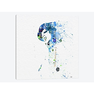 East Urban Home 'Liza Minnelli (Cabaret) I' Graphic Art Print on Canvas; 12'' H x 12'' W x 0.75'' D