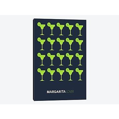 East Urban Home 'Margarita Lover I' Graphic Art Print on Canvas; 18'' H x 12'' W x 0.75'' D