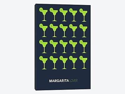East Urban Home 'Margarita Lover I' Graphic Art Print on Canvas; 60'' H x 40'' W x 1.5'' D
