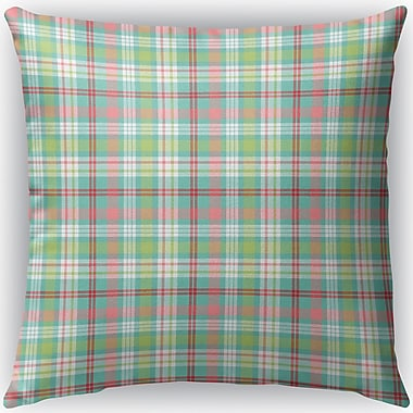 Darby Home Co Mollien Plaid Indoor/Outdoor Throw Pillow; 26'' H x 26'' W x 4'' D