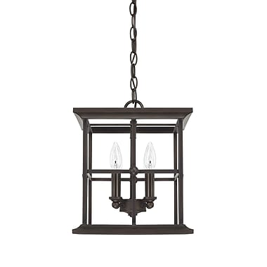 Darby Home Co Kristine 4-Light LED Foyer Pendant; 14.25'' H x 12'' W x 12'' D