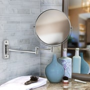 Symple Stuff Round Wall Mounted Bath Boutique Mirror