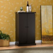 Latitude Run Haverhill Bar Cabinet w/ Wine Storage