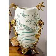 Westmen Lights Porcelain Handmade Centerpiece Table Vase